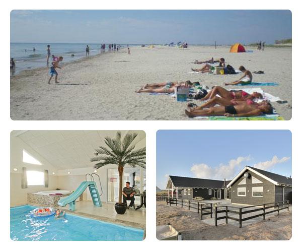 Luksus Poolhus - Sommerhus med pool og aktivitetsrum